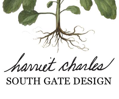 harriet charles florist logo