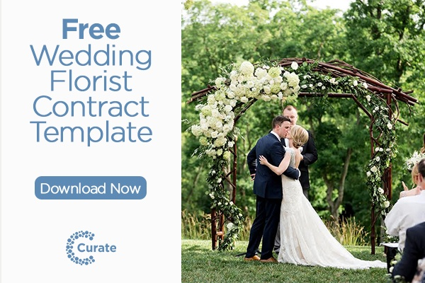 Curate Free Wedding Florist Contract