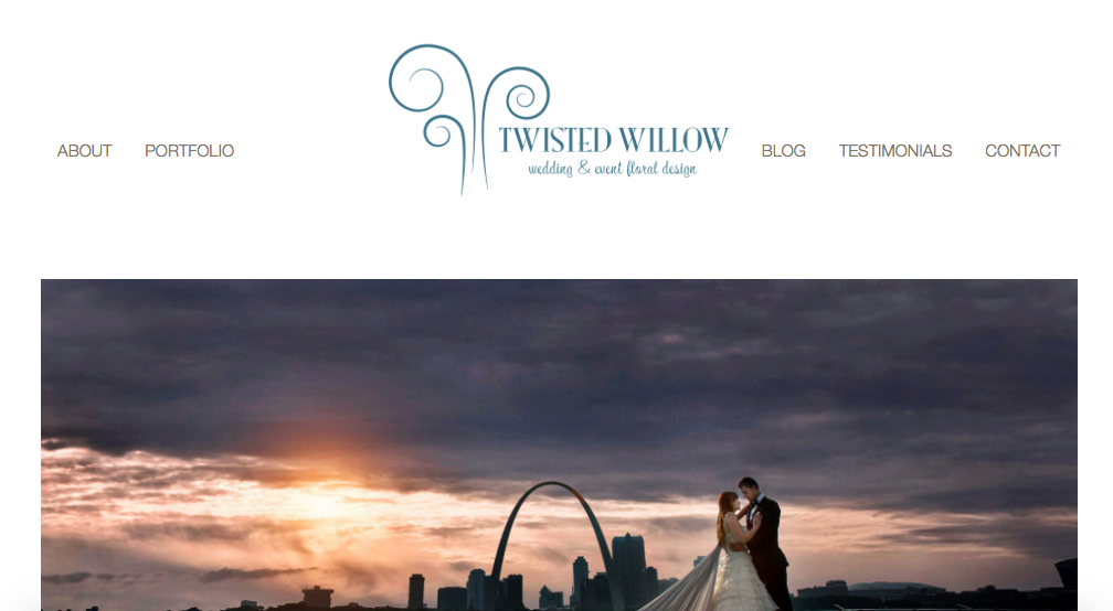 Twisted Willow Website Before