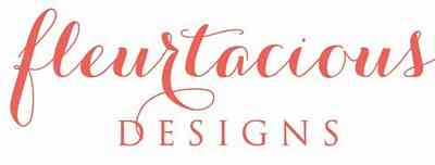 Single Color Florist Logo