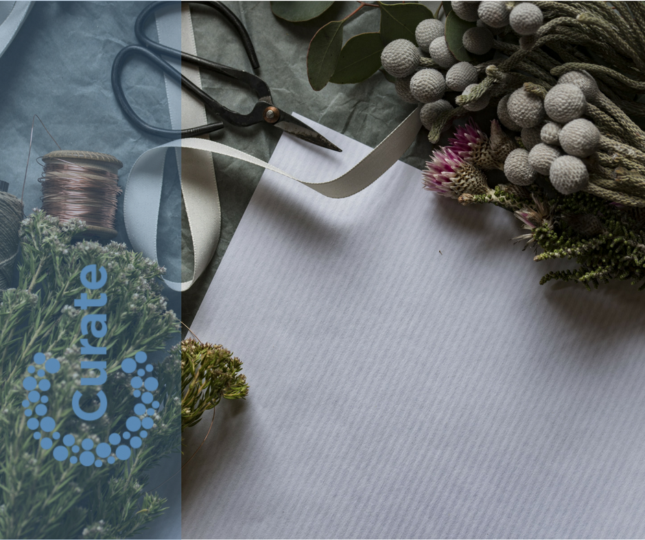 Blog - scissors - Curate - flowers-1