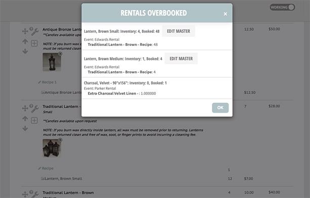 Rentals overbooked