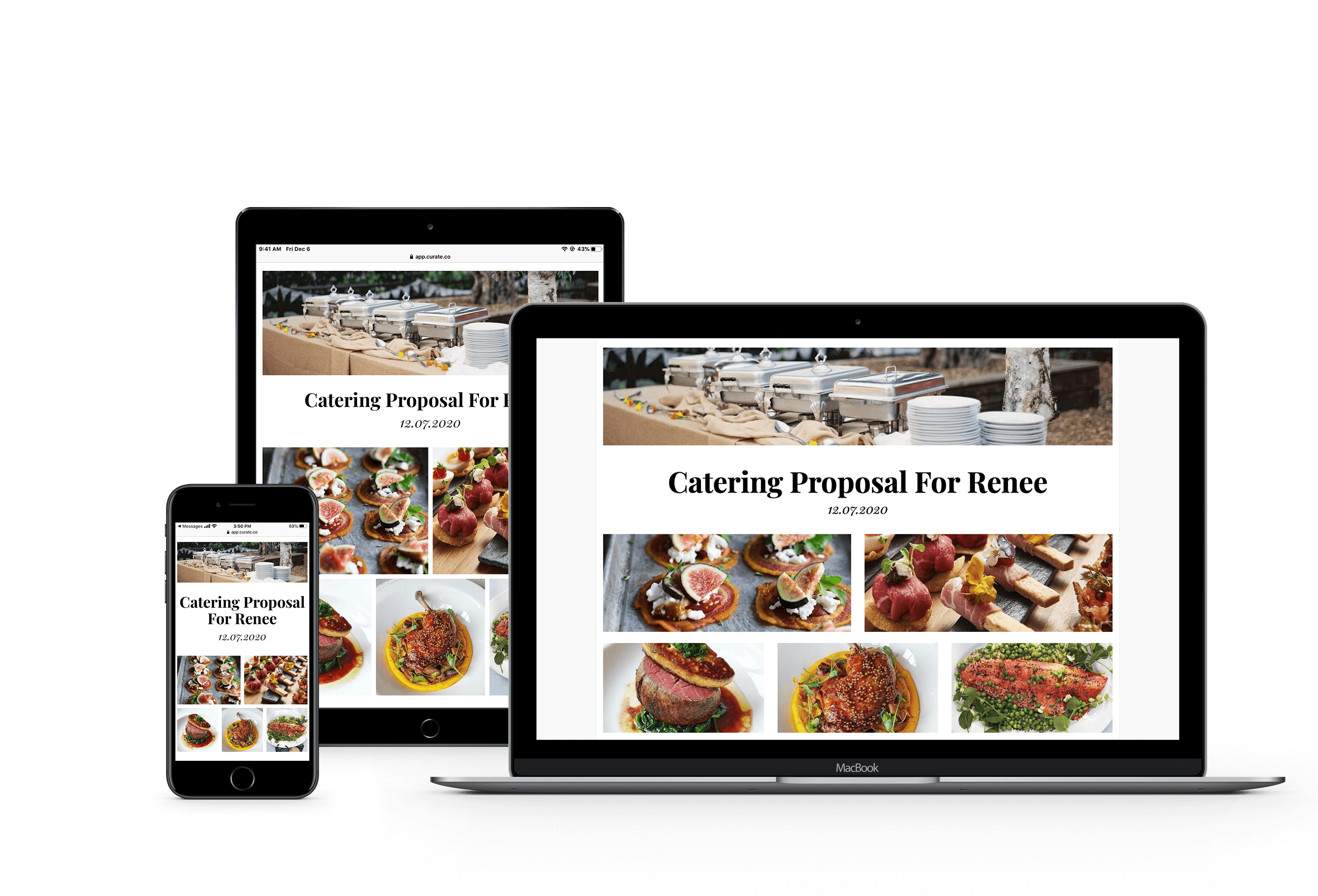 multi-device catering proposal cover 2
